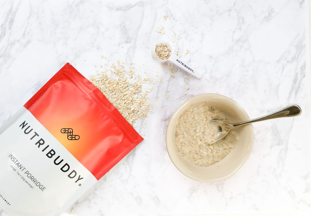 Nutribuddy Instant Chia & Coconut Oat Porridge