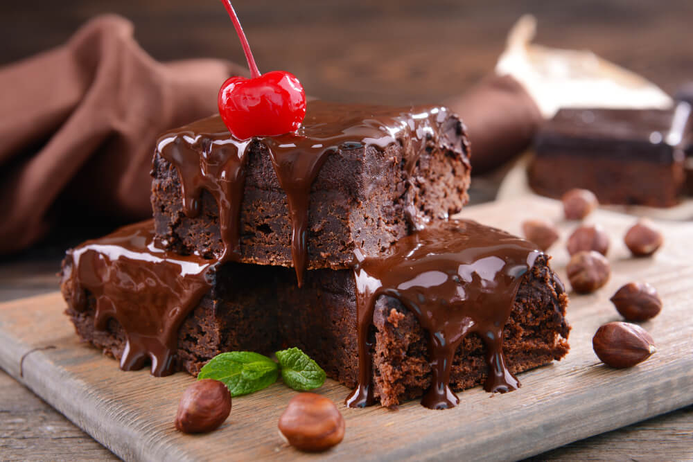 Healthy chocolate brownies recipe