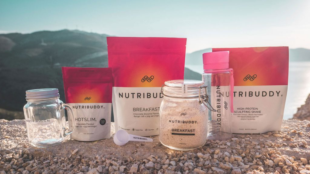 Nutribuddy vegan weight loss shake bundle
