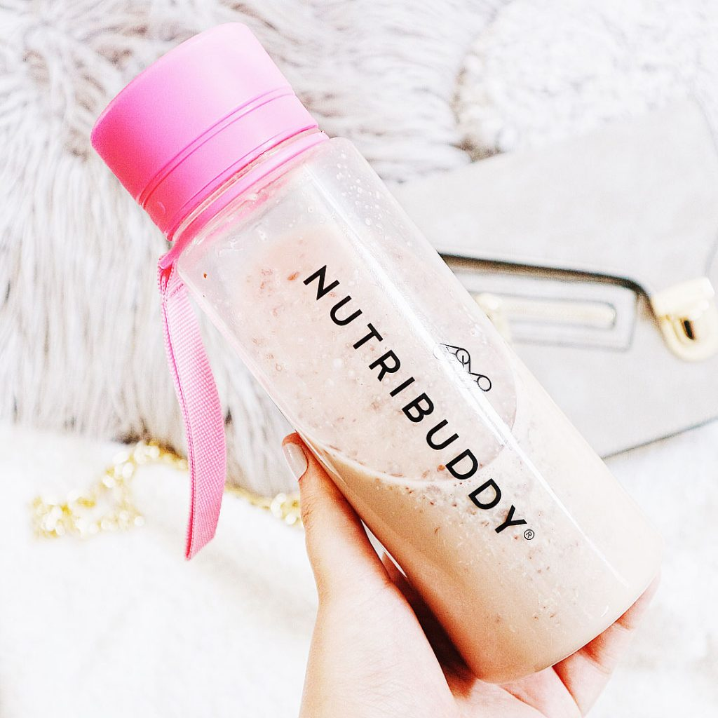 Nutribuddy protein shakes with pea protein powder