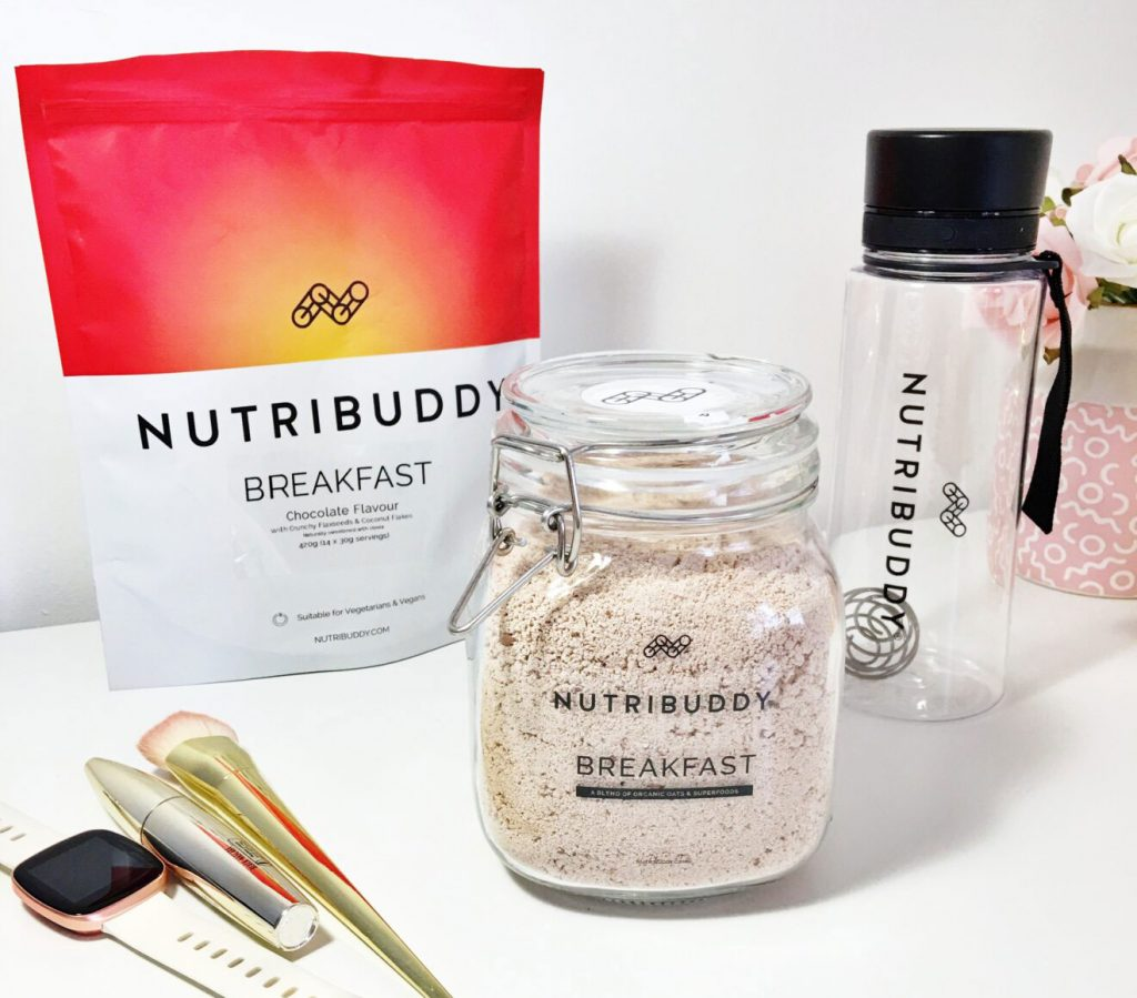 nutribuddy breakfast by alelifeofficial