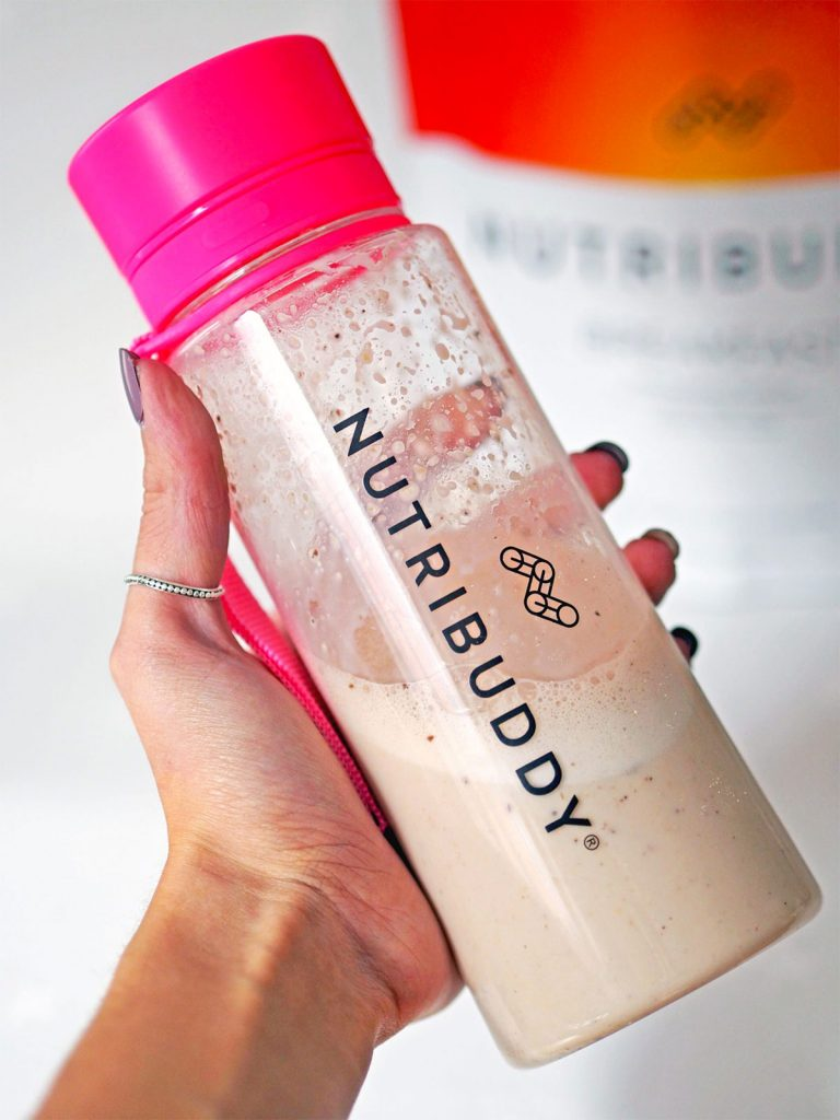 nutribuddy breakfast shake for weight loss