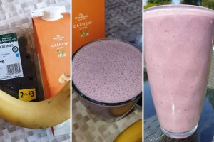 Banana Smoothie Using Nutribuddy Breakfast Shake