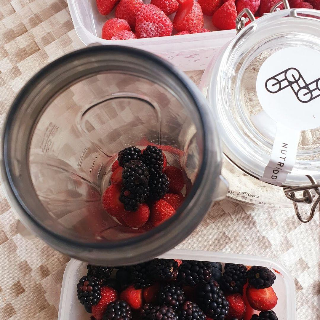 Renna's Smoothie using Nutribuddy Breakfast Shake