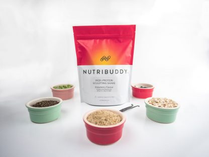 Nutribuddy High-Protein Sculpting Shake's natural wholefood ingredients