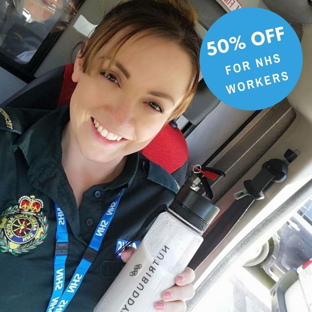 NHS 50% Discount