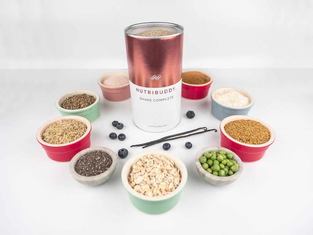 Shake Complete alongside its natural whole-food ingredients