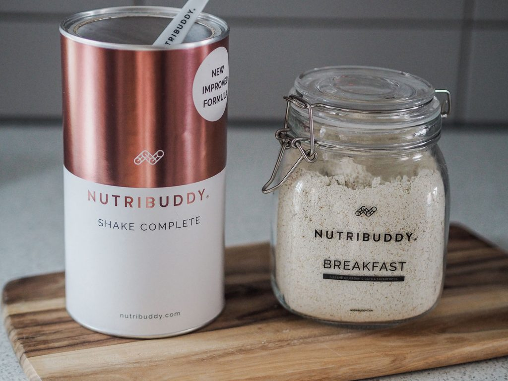 Nutribuddy Breakfast Shake and Shake Complete