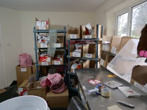 Packing room in my old bedroom